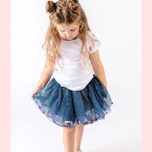 Doe a dear Pom Pom skirt
